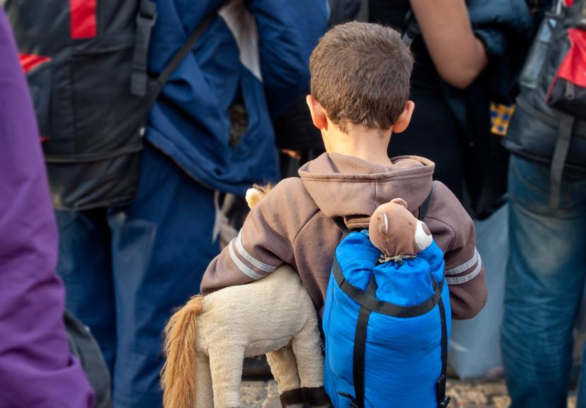 Flüchtlingskind